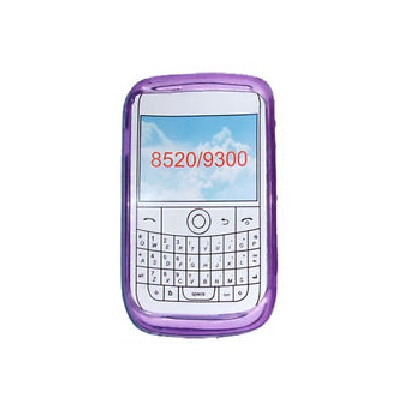 Funda Gel Silicona TPU para Blackberry 8520 8530 9300 MORADA