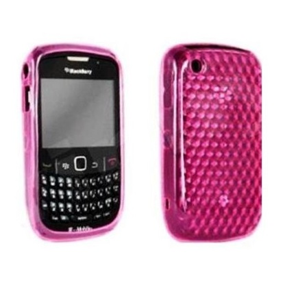 Funda Gel Silicona TPU para Blackberry 8520 8530 9300 Rosa