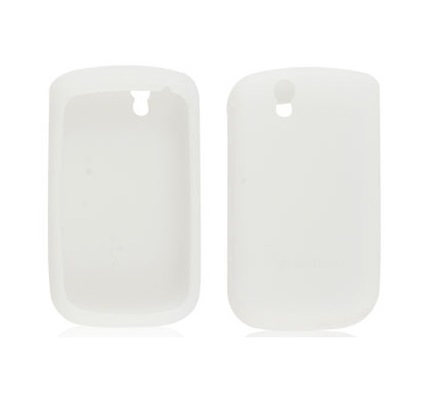Funda de Silicona para Blackberry 9630 Tour BLANCA