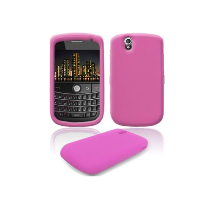 Funda de Silicona para Blackberry 9630 Tour ROSA