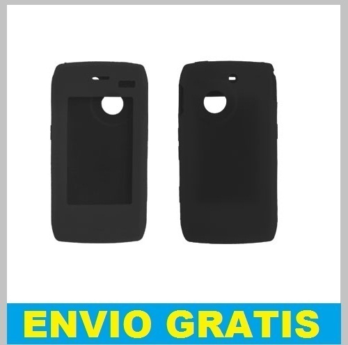 FUNDA SILICONA PARA LG GC900 GC 900 VIEWTY SMART NEGRA