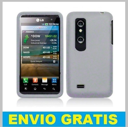 FUNDA SILICONA PARA LG OPTIMUS 3D P920 /THRILL 4G  BLANCA