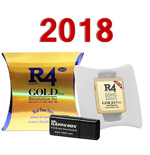 R4I GOLD PRO 3DS 2018 OFERTA EXCLUSIVA WEB