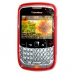 Funda Gel Silicona TPU para Blackberry 8520 8530 9300 Roja